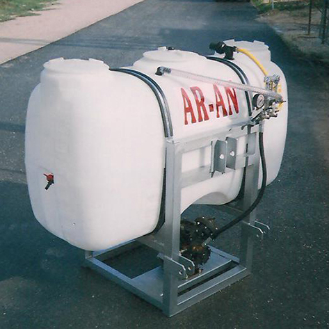 Mounted Sprayers Plungers Type Comet | AR-AN
